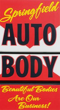 Springfield Auto Body Inc., Captioned Logo