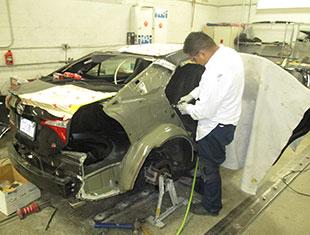 Repairing Damaged Vehicle - Collision